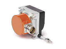 Wire actuated encoders