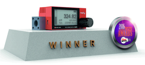 The digital mass flow meters of the red-y compact 2 series are the winners of the Flow Control Innovation Award 2016!